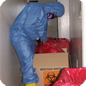 Cleaning up a trauma, crime scene, or death is a difficult issue that we can manage