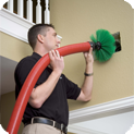Air duct cleaning can improve the indoor air quality of a property